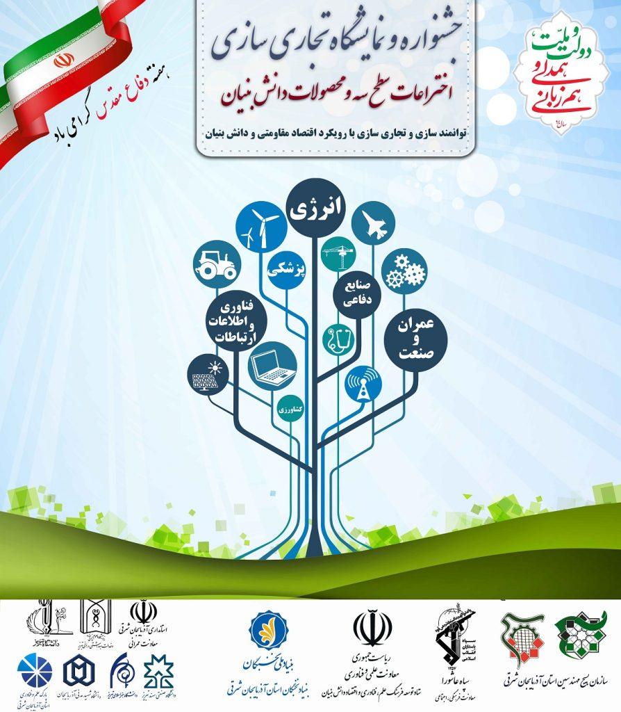 جشنواره و نمایشگاه تجاری سازی اختراعات سطح سه و محصولات دانش بنیان